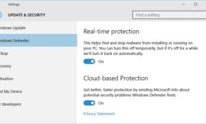 Windows Defender no se apagará incluso si hay instalado un antivirus de terceros.