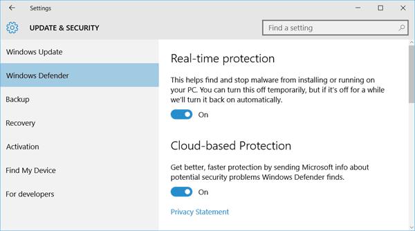 Windows Defender no se apagará incluso si hay instalado un antivirus de terceros. 3