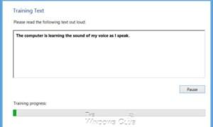 Haga que Windows comprenda mejor su voz mediante el Entrenamiento de voz de reconocimiento de voz
