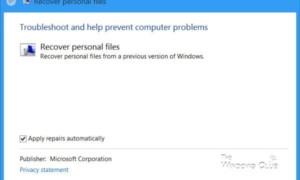 Cómo recuperar archivos y carpetas de datos de usuario eliminados después de la actualización de características de Windows 10