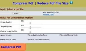 Optimizar, comprimir y reducir el tamaño del archivo PDF en Windows