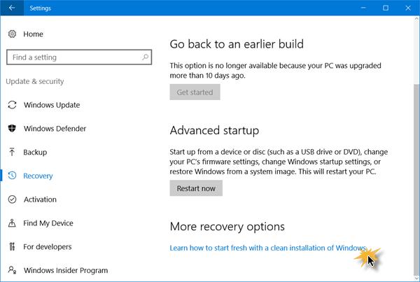 Reinstalar Windows 10 con la herramienta Actualizar Windows de Microsoft
