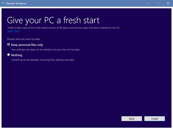 Reinstalar Windows 10 con la herramienta Actualizar Windows de Microsoft 1