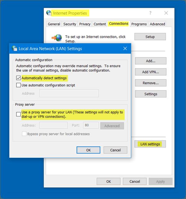 El dispositivo o recurso remoto no acepta la conexión