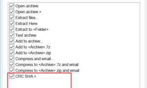 Cómo eliminar una entrada CRC-SHA del Menú contextual de Windows 10