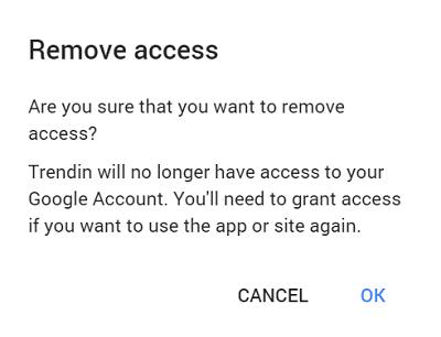 Averigua qué aplicaciones tienen acceso a tu cuenta de Google.