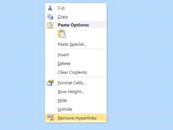 Cómo encontrar y eliminar fácilmente hipervínculos en Excel