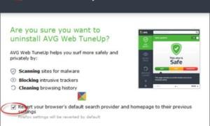Cómo desinstalar completamente AVG Web Tune Up del equipo con Windows