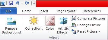 Eliminar el fondo de una imagen con Microsoft Word