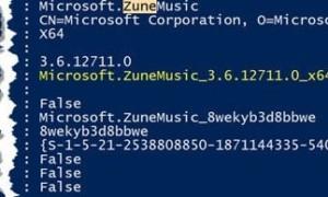 Desinstalación de música Groove de Windows 10