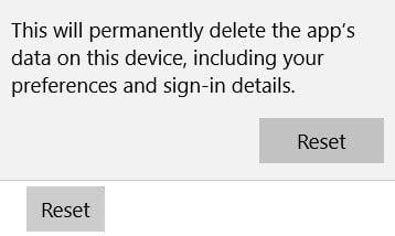 Cómo restablecer las aplicaciones del Almacén de Windows en Windows 10 a través de Configuración 3