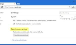 Corregido error ERR_CONNECTION_RESET en el navegador Chrome