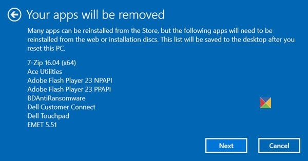 ¿Qué sucede cuando reinicia Windows 10?