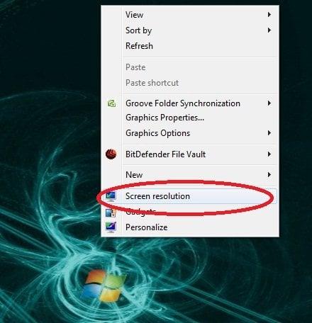 Cómo configurar fácilmente los monitores duales en Windows 7 5