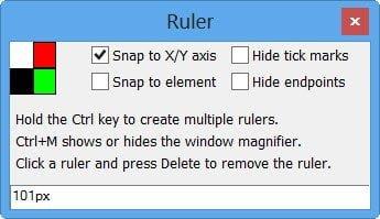 Activar la Herramienta de Selección de Color y la Regla ocultas en Internet Explorer