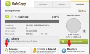 Copia de seguridad de seguridad: Servicio gratuito de almacenamiento y copia de seguridad en la nube