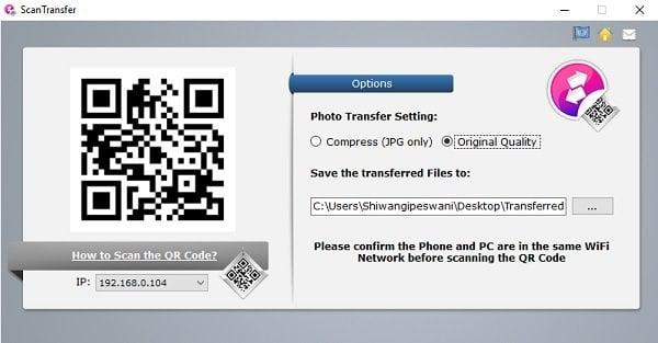 ScanTransfer le permite escanear y compartir sus fotos y vídeos de forma inalámbrica 1