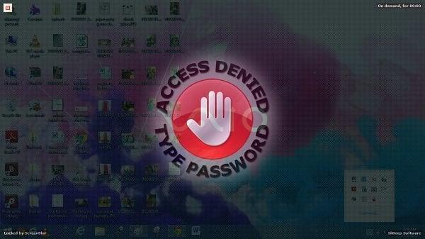 ScreenBlur: Innovadora pantalla de bloqueo para bloquear el escritorio de Windows 1