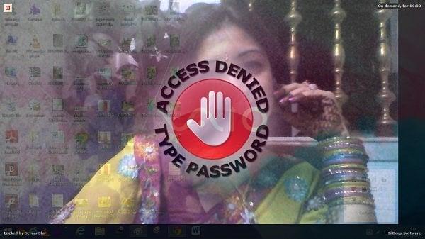 ScreenBlur: Innovadora pantalla de bloqueo para bloquear el escritorio de Windows
