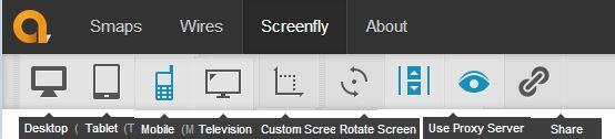 Sitio web de prueba en diferentes tamaños y resoluciones de pantalla 1
