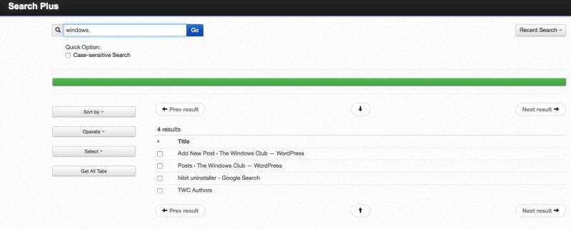 Buscar en varias pestañas abiertas de los navegadores Firefox y Chrome