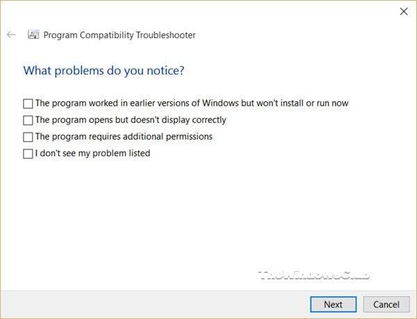 Este programa no se ejecuta en Windows 10 3