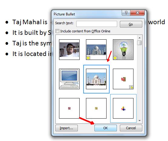 Cómo usar las imágenes como viñetas en Word