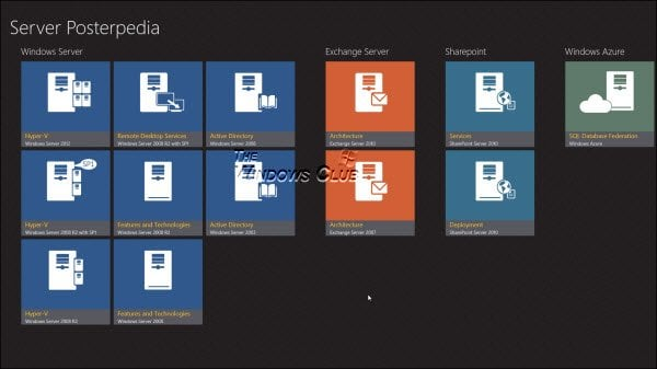 Servidor Posterpedia: La aplicación Windows Store le ayudará a comprender las tecnologías de Microsoft 1
