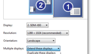 Cómo configurar fácilmente los monitores duales en Windows 7