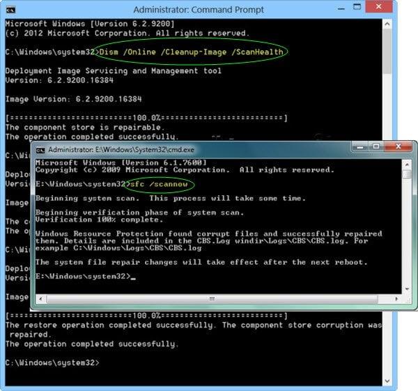 DISM vs SFC primero? ¿Qué es lo primero que debo ejecutar en Windows 10?