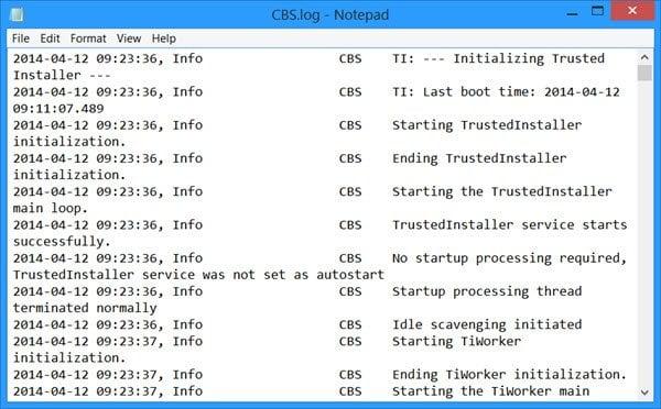 La Protección de Recursos de Windows encontró archivos corruptos pero no pudo corregir algunos de ellos. 1