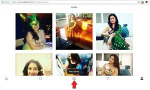 Compartir fotos en Instagram usando Firefox o Chrome en un PC con Windows