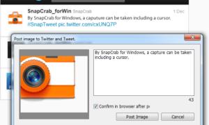 SnapCrab para Windows: Utilidad gratuita de captura de pantalla que le permite compartir imágenes fácilmente