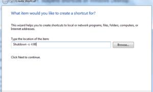 Crear apagado, reiniciar, cerrar sesión, suspender accesos directos en el escritorio de Windows