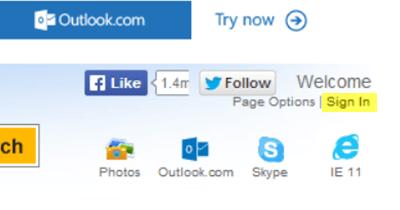 Obtenga el ID de correo electrónico de Outlook específico del país, como @outlook.in, etc. 1