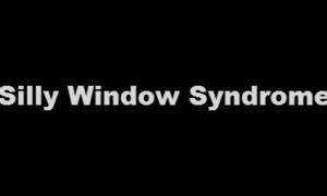 Qué es el síndrome de la ventana tonta - Explicación y prevención