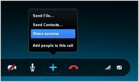 Cómo compartir la pantalla en Skype para Android e iOS
