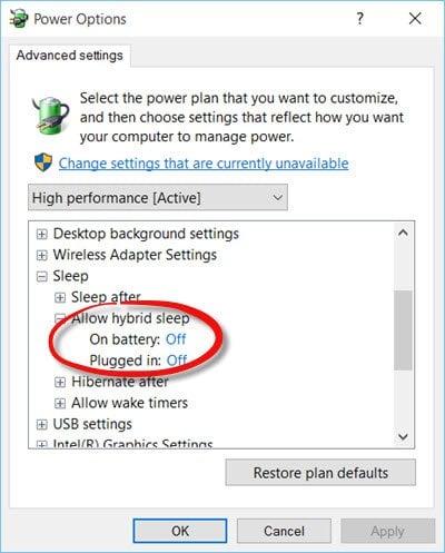 Windows no se despertará del modo de reposo