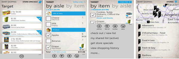 Compras inteligentes en Windows Phone 7.5