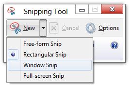 Snipping Tool en Windows 10/8/7: consejos y trucos para capturar capturas de pantalla 2