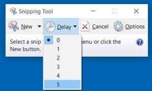 Snipping Tool en Windows 10/8/7: consejos y trucos para capturar capturas de pantalla