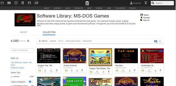 Juega juegos de MS DOS en línea en estos 5 sitios principales 1