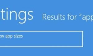 Cómo ver los tamaños de las aplicaciones y el almacenamiento disponible en Windows 8