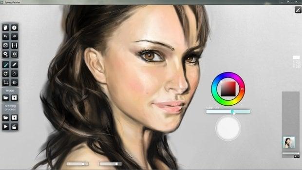 Speedy Painter: Uno de los mejores pintores simples para Windows