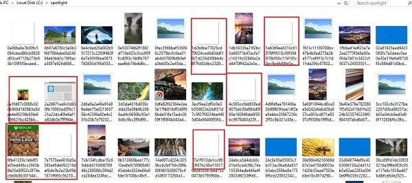 Herramienta Windows Spotlight: Guarda las imágenes de la pantalla de Spotlight Lock y úsalas como fondo de pantalla