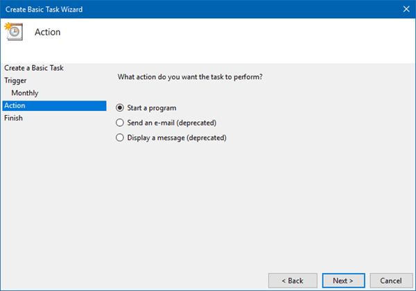 Automatice el funcionamiento de la herramienta mejorada de Liberador de espacio en disco en Windows 10/8/7 7