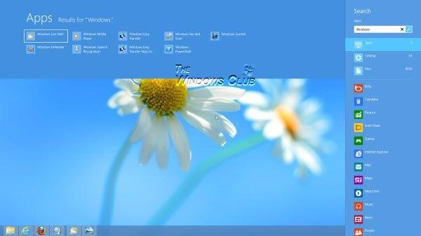 Abrir la pantalla de inicio de Metro en el modo de escritorio en Windows 8 con el modificador del menú Inicio