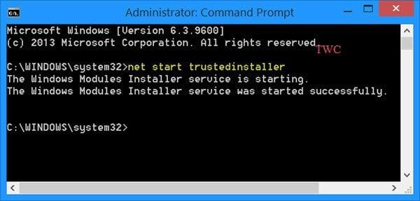 La Protección de recursos de Windows no pudo iniciar el servicio de reparación.