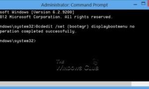 Arrancar en el gestor de arranque heredado y mostrar la configuración de inicio en Windows 10/8