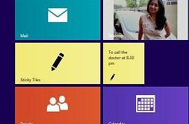 Aplicación de azulejos y baldosas adhesivas para Windows 8